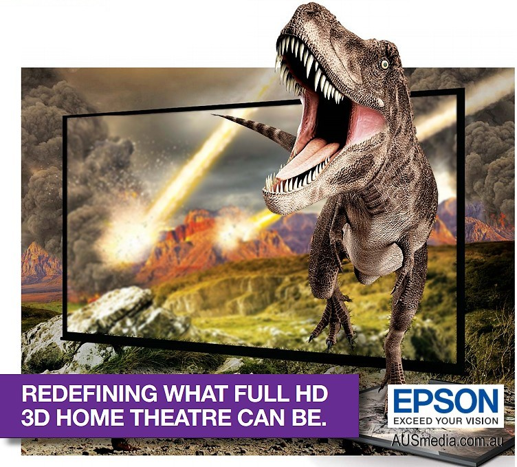 Epson's EH TW5200 home cinema / gaming projector