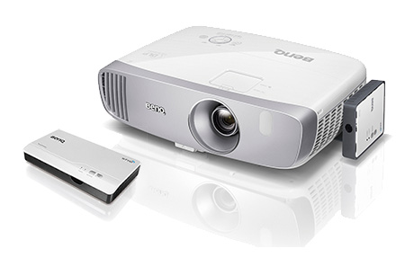 BenQ W2000 wireless option