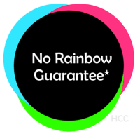 No Rainbow Guarantee by HCC